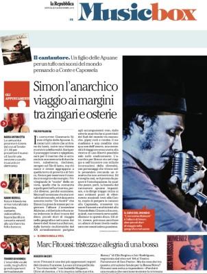 """Recensione """"L'ennesimo Maleocon"""" La Repubblica 26/11/2014"""